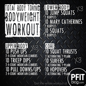 Killer Bodyweight Workout