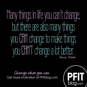 change what you can
