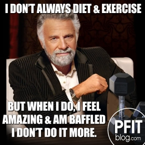 i don't always diet