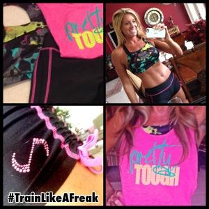 train like a freak apparel