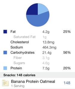 banana protein oatmeal